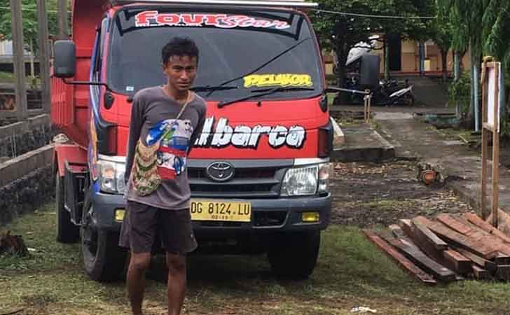 Anak Wawako Tidore Maluku Utara