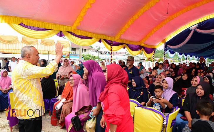 Gubernur Riau di Kuansing