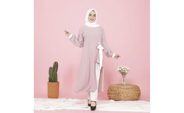 Baju Muslimah Kyoya Ayana Half Tunic