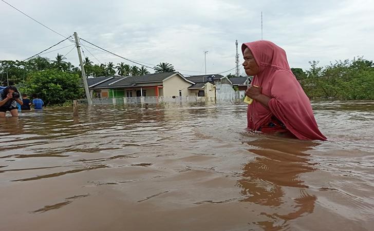 Banjir Perumahan Pesona Harapan Indah