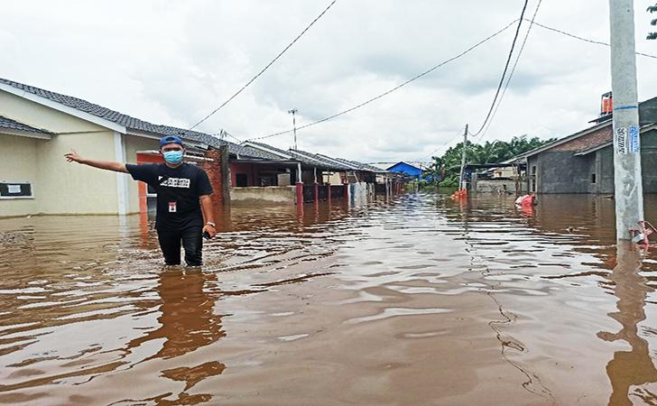 Banjir Perumahan Pesona Harapan Indah14