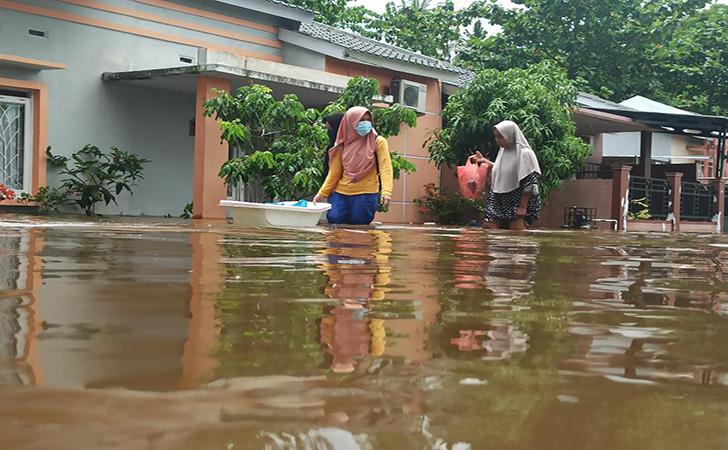 Banjir Perumahan Pesona Harapan Indah16