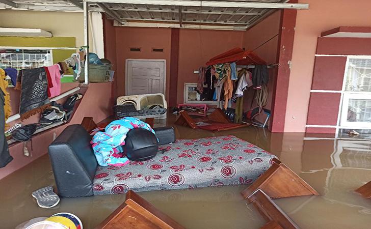 Banjir Perumahan Pesona Harapan Indah17