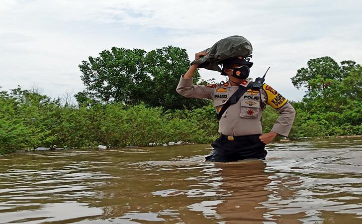 Banjir Perumahan Pesona Harapan Indah3