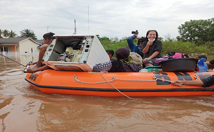 Banjir Perumahan Pesona Harapan Indah4