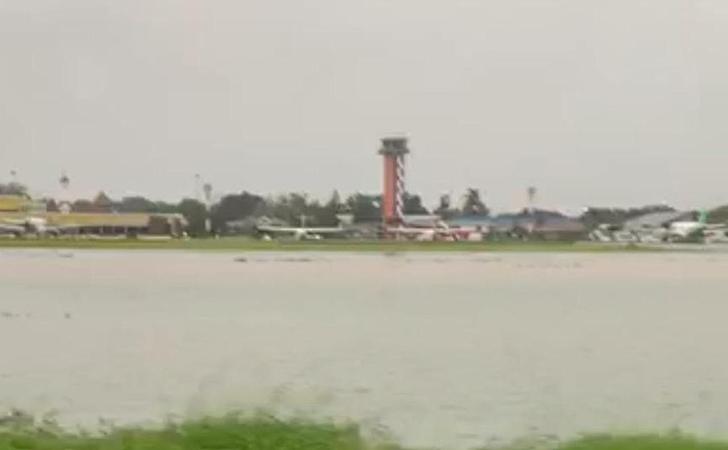Banjir di Bandara Halim Perdanakusuma