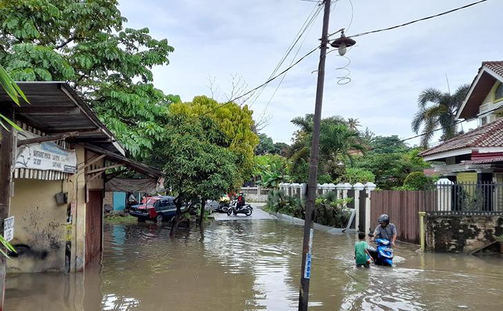 Banjir di Jalan Lembah Raya