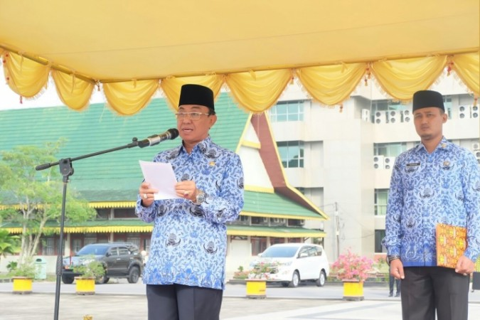 Bupati Inhil, HM Wardan Panen Raya