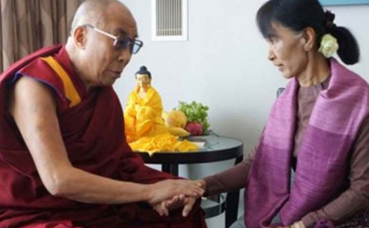 Dalai Lama dan Aung San Suu Kyi