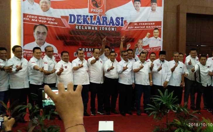 Kepala Daerah Dukung Jokowi-Maaruf Amin