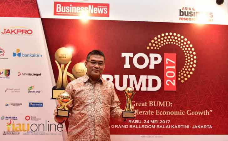 Bank Riau Kepri Top BUMD 2017