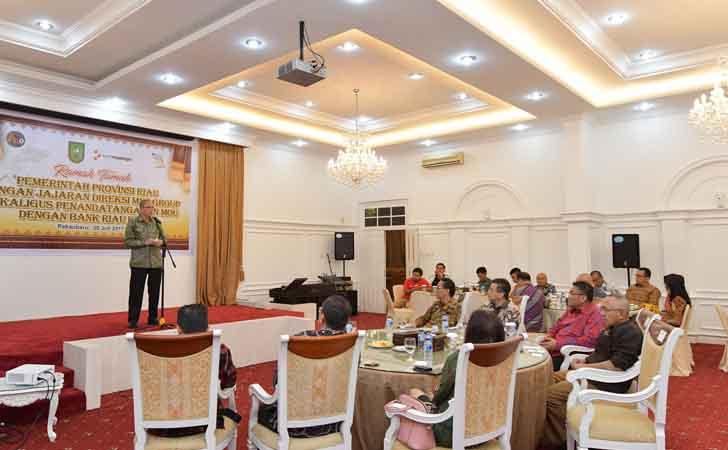 Dirut MNC Capital Indonesia G Andrew Andryanto Haswin
