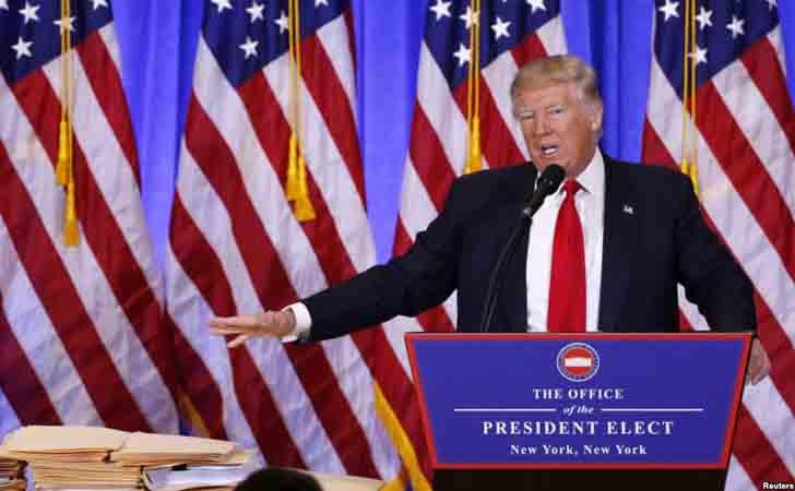 Donald Trump, Presiden Amerika Serikat