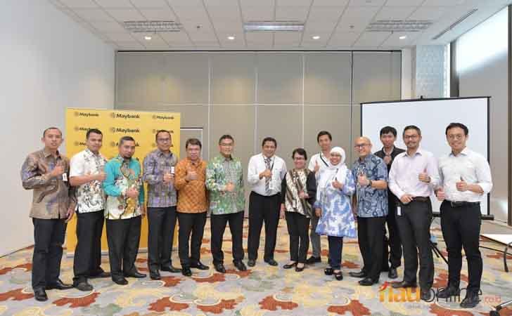 Diskusi Maybank dengan Bank Riau Kepri
