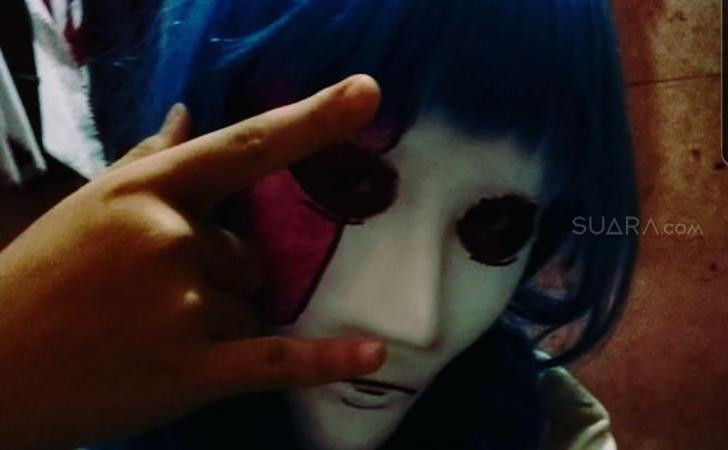 Foto gadis pembunuh Sawah Besar di Instagram