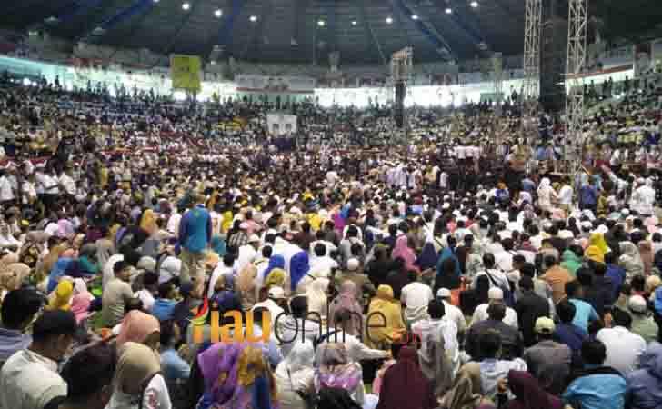 Ribuan Massa Prabowo Padati Gelanggang Remaja