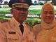 Gubernur Andi Rachman dan Istri Usai Pelantikan