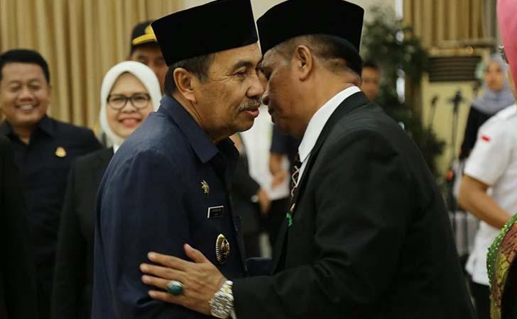 Gubernur dan Pj Sekdaprov Riau