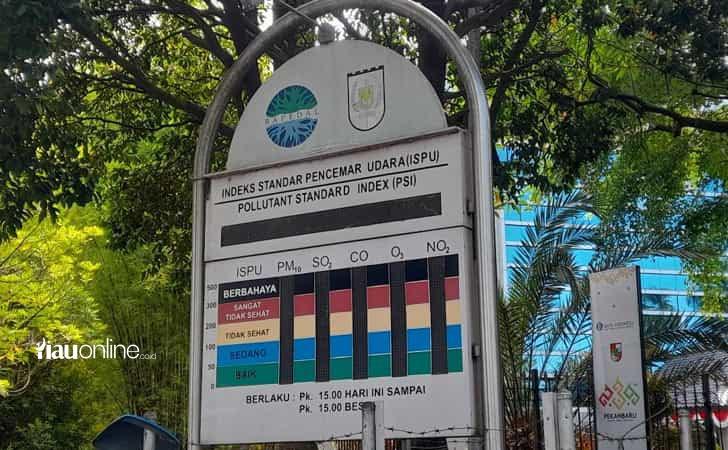 ISPU di Pekanbaru