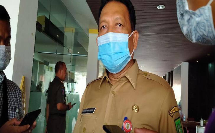 Ikhwan Ridwan, Kepala BKD Riau