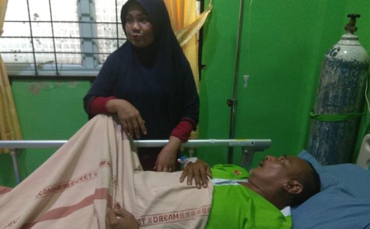 Ketua KPPS 51 Sialang Mungku Stroke