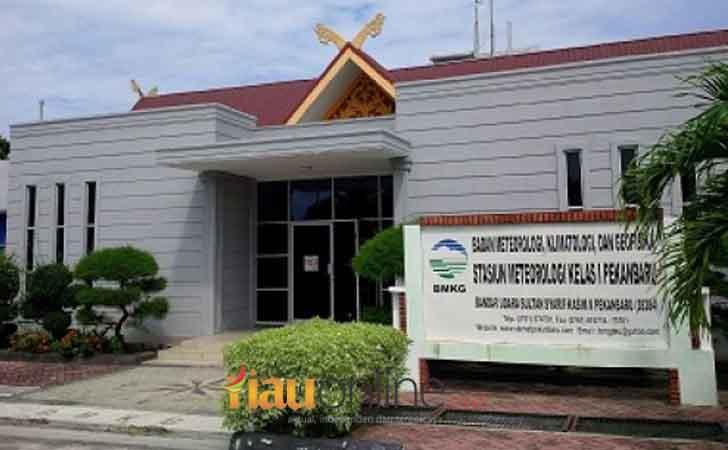 Kantor BMKG Riau