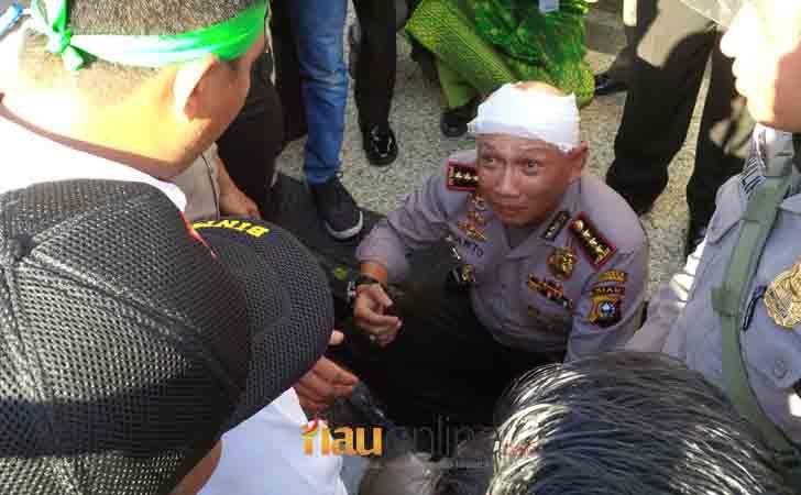Kepala Kapolresta Pekanbaru Bocor