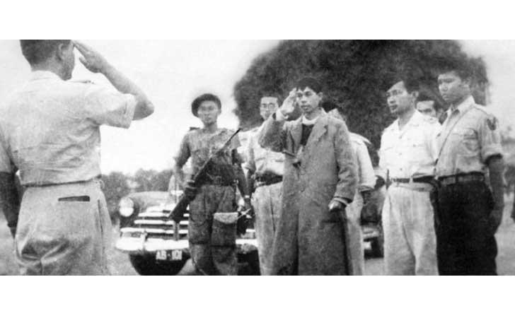 Kedatangan Panglima Besar Jenderal Soedirman