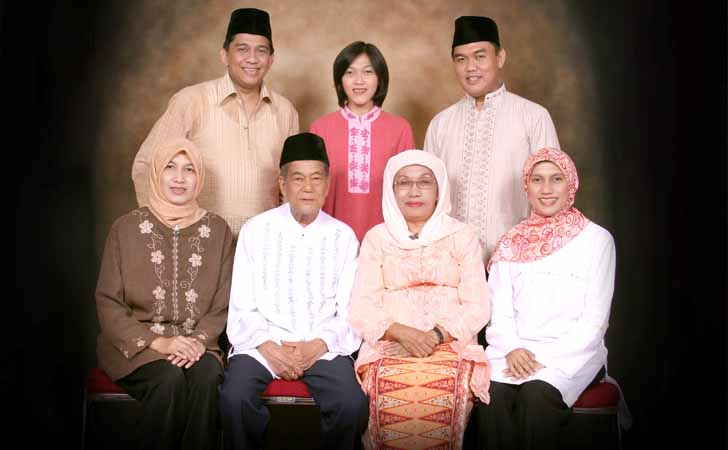 Keluarga Besar Irda Fidrianny