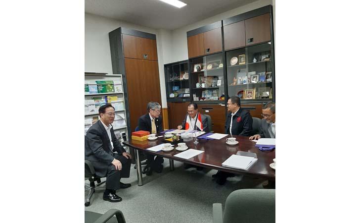 Kerjasama Unri dengan Tsukuba Jepang