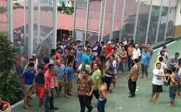 Tahanan Kabur dari Rutan Sialang Bungkuk