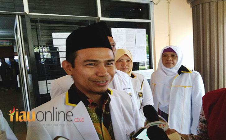 Ketua DPW PKS Riau, Hendri Munief