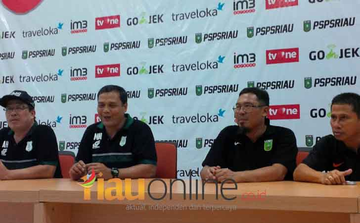 Konferensi Pers Liga 2 Grup I PSPS Riau Vs PSMS Medan