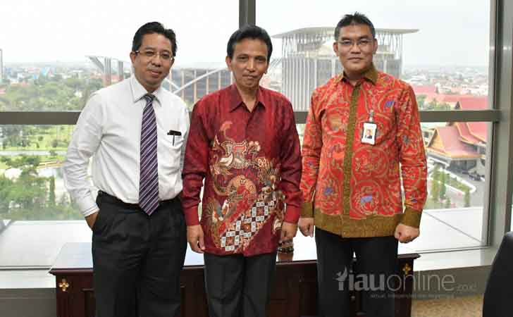 Kunjungan Deputi Pemberantasan PPATK ke Bank Riau Kepri
