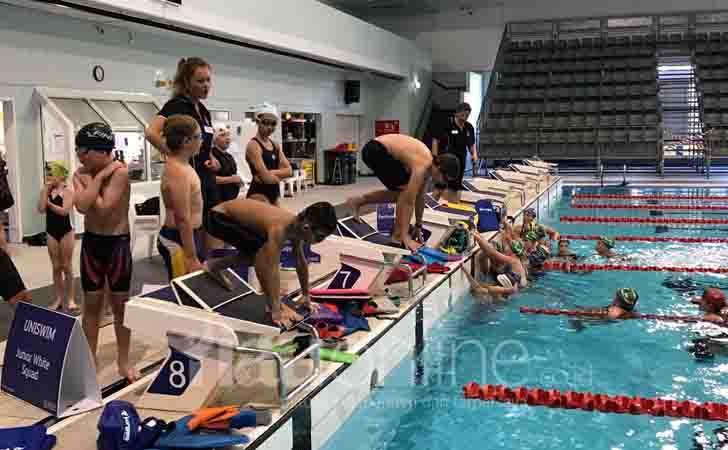 Atlet Renang Riau Berlatih di Australia