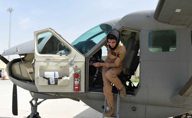 Niloofar Rahmani, Pilot Perempuan Afghanistan