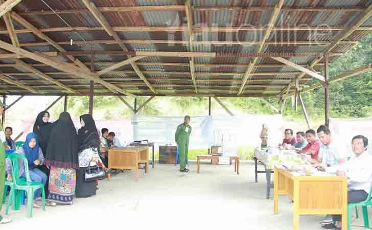 Pemungutan Suara Ulang di TPS 03 Kumantan, Bangkinang