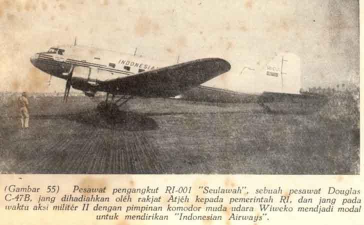 Pesawat Seulawah Bantuan Rakyat Aceh