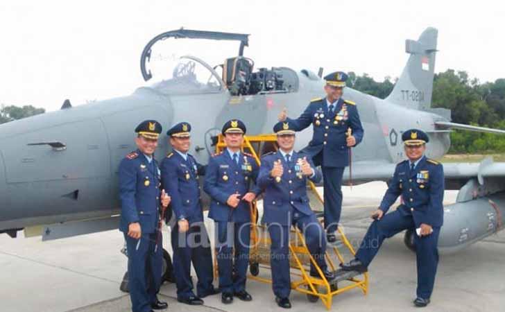 Pesawat F-16 Lanud Roesmin Nurjadin