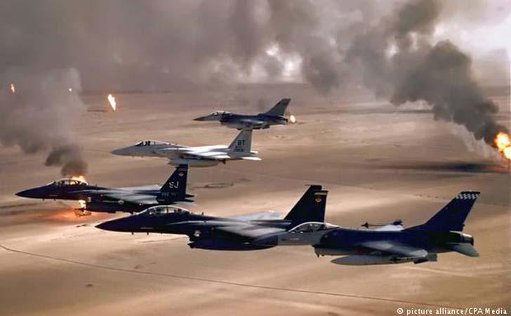 Pesawat Tempur di Perang Teluk 1990