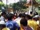 Petugas Kebersihan Demo di Kantor Wako