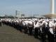 Polisi Berjubah Amankan Aksi Damai 4 November