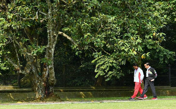 Presiden Jokowi dan Zohri2