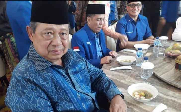 Sotindang Dinikmati Presiden SBY