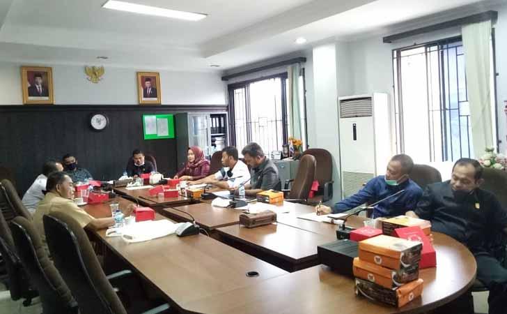 Rapat Komisi I DPRD Pekanbaru