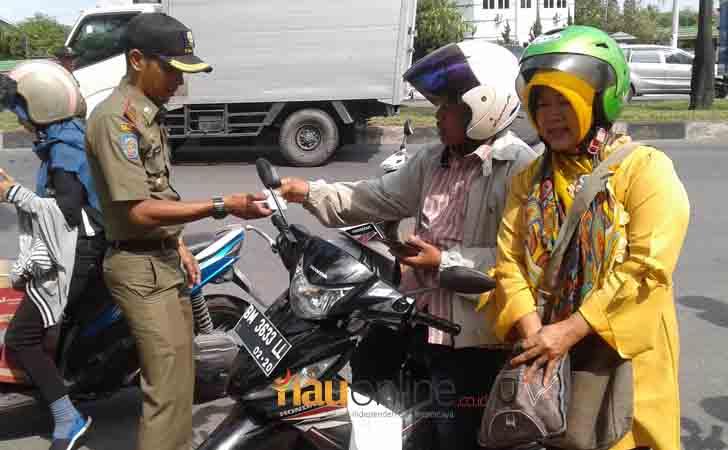 Razia KTP oleh Tim Yustisi Pemko Pekanbaru