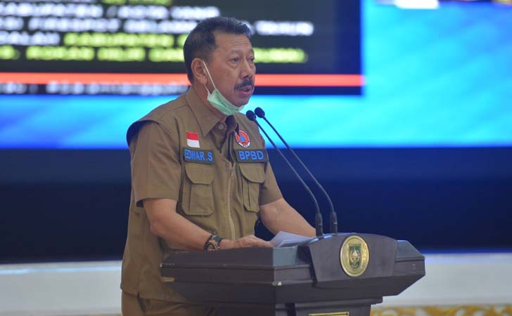 Riau Siaga Status Karhutla 2021