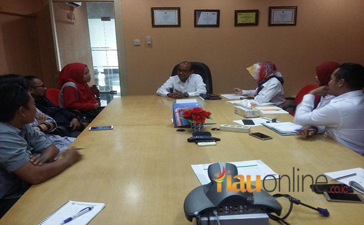 Kunjungan RiauOnline ke SKK Migas