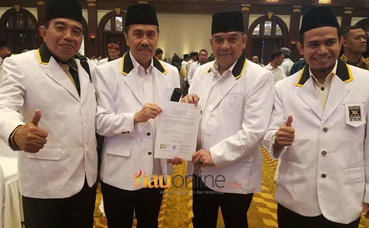 SK PKS Dukung Syamsuar-Edy Natar