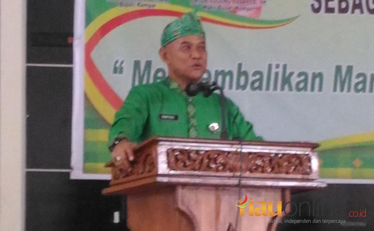 Kadisdikpora Kabupaten Kampar